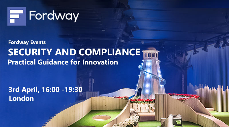 Join us in London on 3rd April for our Security Event